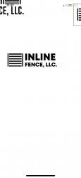 Inline fence