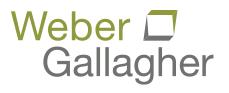 Weber Gallagher
